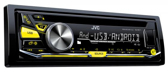 Автомагнитола JVC KD-R571 USB MP3 CD FM RDS 1DIN 4x50Вт черный random sunflowers print skirt