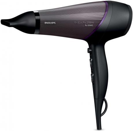 Фен Philips BHD 177/00 2300Вт чёрный фиолетовый фен philips bhd282 00
