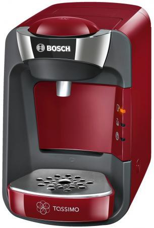 Кофемашина Bosch TAS3203 1300 Вт красный кофемашина автоматическая bosch tca 5309