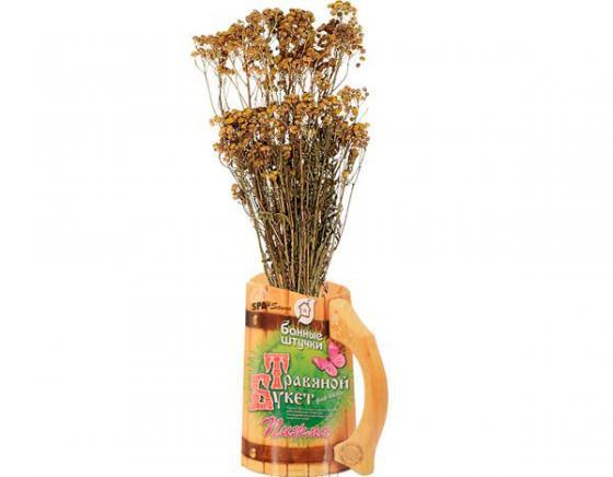 Травяной букет для бани Пижма Банные штучки 33064 набор для бани банные штучки колокольчик