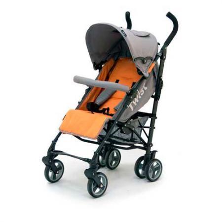 Коляска-трость Jetem Twist (orange/grey) jetem коляска трость twist