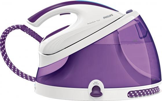 Паровая станция Philips GC8625/30 2400Вт белый фиолетовый philips hd3197 03
