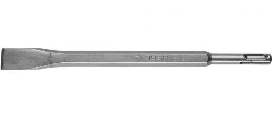 Зубило плоское ЗУБР для перфораторов SDS-Plus 29362-20-250 зубило зубр 29362 20 250