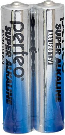 Батарейки Perfeo LR03/2SH Super Alkaline AAA 2 шт