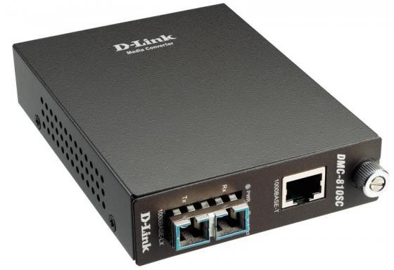 Медиаконвертер D-LINK DMC-810SC/B9A 14 810 90v0[