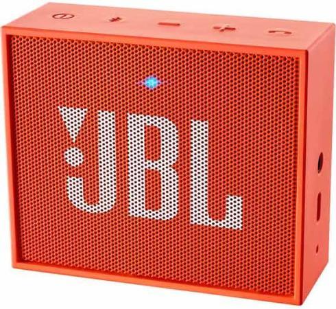Портативная акустика JBL GO оранжевый JBLGOORG портативная акустика беспроводная jbl horizon white