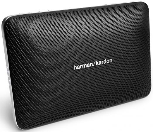 Портативная акустическая система Harman Kardon Esquire 2 черный HKESQUIRE2BLK harman kardon aura emerald беспроводная bluetooth аудио сабвуфер компьютер телевизор малый громкоговоритель всенаправленная звуковая стена уголь черный