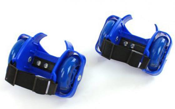 Ролики 2 колесные синие 635103