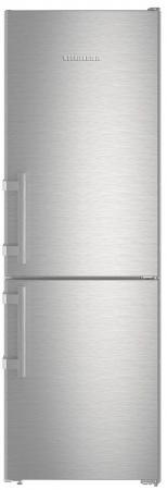 Холодильник Liebherr CNef 3515-20 001 серебристый двухкамерный холодильник liebherr cnef 3515