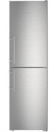Холодильник Liebherr CNef 3915-20 001 серебристый двухкамерный холодильник liebherr cnef 3515