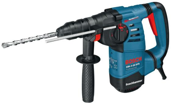 Перфоратор SDS Plus Bosch GBH 3-28 DFR 800Вт перфоратор sds plus bosch pbh 2500 re