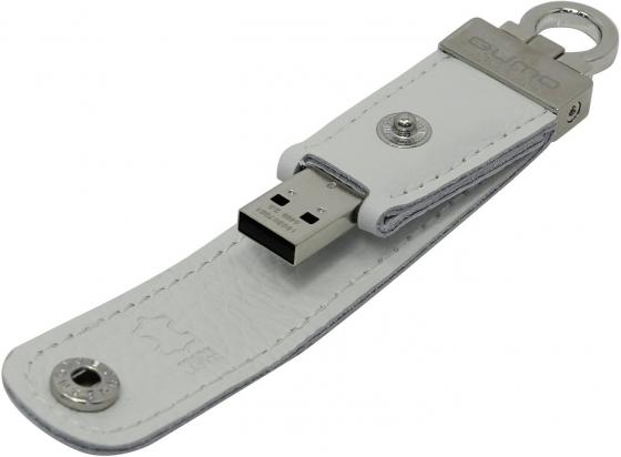 Флешка USB 64Gb QUMO Lex USB2.0 белый QM64GUD-Lex usb флешка qumo ring 64gb silver qm64gud3 ring usb 3 0