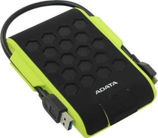 """цена на Внешний жесткий диск 2.5"""" USB3.0 1Tb A-Data HD720 AHD720-1TU3-CGR черно-зеленый"""
