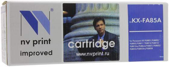 Картридж NV-Print KX-FA85A для Panasonic KX-FLB801/802/803/811/812/813/851/852/853/883RU черный 5000стр картридж nv print kx fat88a для panasonic kx fl403ru 413ru c413ru черный 2000стр