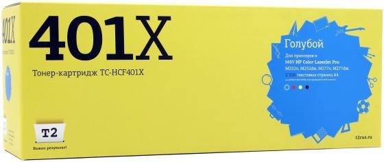 Картридж T2 CF401X для HP CLJ Pro M252n/M252dw/M277n/M277dw голубой 2300стр TC-HCF401X sp 60x45 см