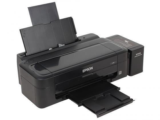 Принтер Epson L132 цветной А4 27/15ppm 5760x1440dpi USB C11CE58403 струйный принтер epson l132