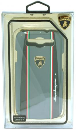 Пластиковый чехол Lamborghini Superleggera-D1 для Samsung Galaxy S3 (серый) fashionable protective bumper frame case with bowknot for samsung galaxy s3 i9300 black