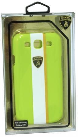 цена на Пластиковый чехол Lamborghini Gallardo-D1 для Samsung Galaxy S3 (зеленый)
