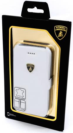Чехол-книжка iMOBO Lamborghini Diablo для iPhone 5C белый стоимость
