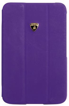 Кожаный чехол Lamborghini Diablo Smart Cover для G-Tab 3 8.0 (фиолетовый) (iMOBO) Брейтово магазин компьютерных аксессуаров