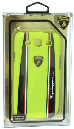Пластиковый чехол Lamborghini Superleggera-D1 для Samsung Galaxy S3 (зеленый)