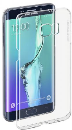 Чехол Pure Case и защитная пленка для Samsung Galaxy S6 edge+ с защитным нанесением hard coating прозрачный 69012