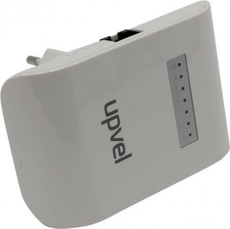 Ретранслятор Upvel UA-342NR 802.11ac 733Mbps 5 ГГц 2.4 ГГц повторитель беспроводного сигнала upvel ua 342nr
