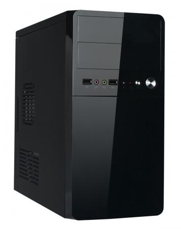 Корпус microATX Exegate BA-110 Без БП чёрный EX251814RUS