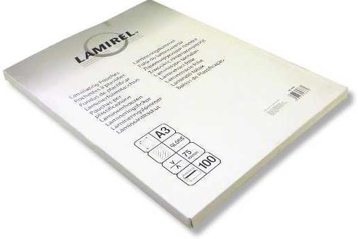 Пленка для ламинирования Fellowes LA-7865501 A3 75мкм 100шт fellowes lunar a3 ламинатор
