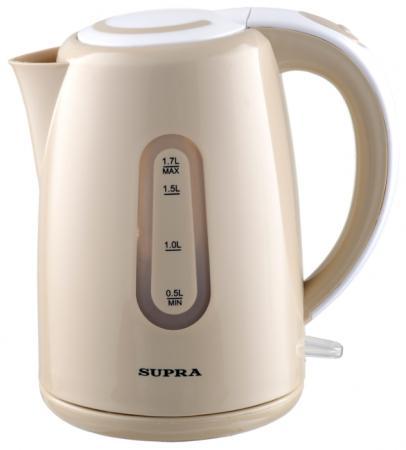 Чайник Supra KES-1720 2200 Вт бежевый 1.7 л пластик