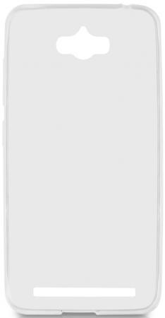 Чехол силиконовый супертонкий для Asus Zenfone Max (ZC550KL) DF aCase-07 белый чехол силиконовый супертонкий df acase 23 для asus zenfone 3 ze552kl