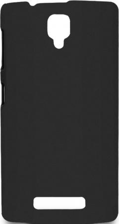 Чехол Soft-Touch для Lenovo A2010 DF LSlim-11 черный смартфон lenovo a2010 8gb белый