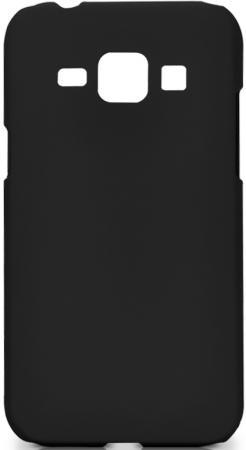 Чехол Soft-Touch для Samsung Galaxy J1 DF sSlim-19 черный dekker для samsung galaxy j1 2016 white