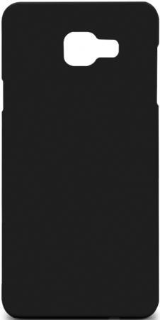 Чехол Soft-Touch для Samsung Galaxy A7 (2016) DF sSlim-25 черный защитное стекло чехол df skit 02 для samsung galaxy j1 mini 2016