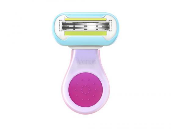 Бритвенный станок Gillette Venus Embrace Snap женский розовый/белый 80254385