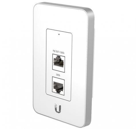 купить Точка доступа Ubiquiti UniFi AP In-Wall 802.11n 150Mbps 2.4GHz 20dBM 1x100Mbps LAN UAP-IW по цене 3570 рублей