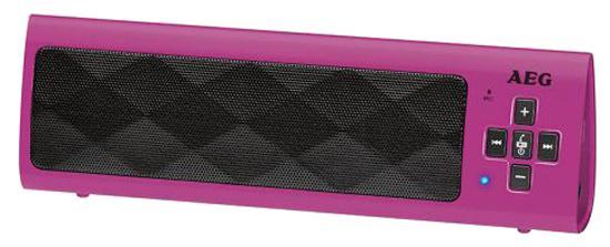 Bluetooth-аудиосистема AEG BSS 4818 pink