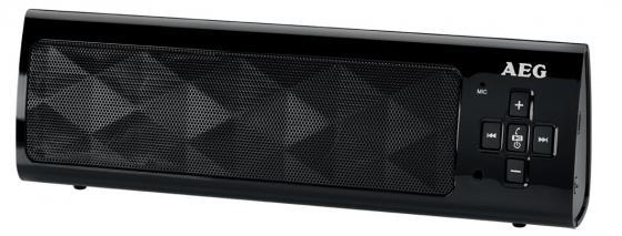 Bluetooth-аудиосистема AEG BSS 4818 black мощная домашняя аудиосистема с bluetooth®