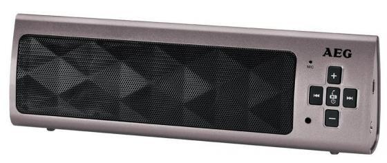 Bluetooth-аудиосистема AEG BSS 4818 titan портативная акустика aeg bss 4804 100вт bluetooth черный серый