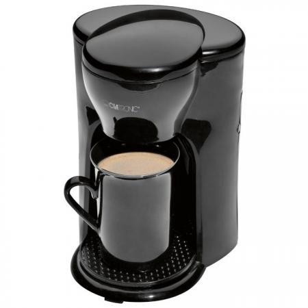 Кофеварка Clatronic KA 3356 300 Вт черный кофеварка clatronic ka 3450 550 вт черно серебристый