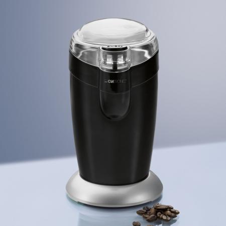 Кофемолка Clatronic KSW 3306 120 Вт черный кофеварка clatronic ka 3555 870 вт белый
