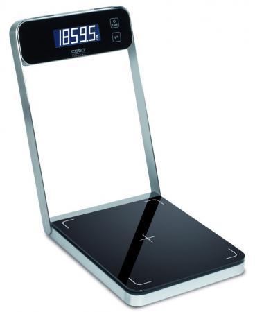 Весы кухонные CASO B 5 серебристый чёрный 3290 кухонные весы аксион вке 21