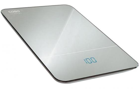 Весы кухонные CASO F 10 серебристый caso l 20 white кухонные весы