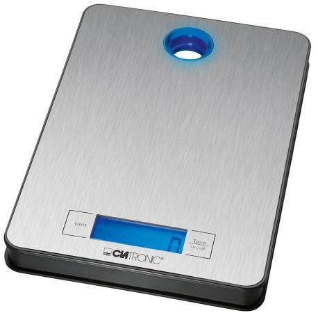 Весы кухонные Clatronic KW 3412 серебристый весы clatronic gw 3549