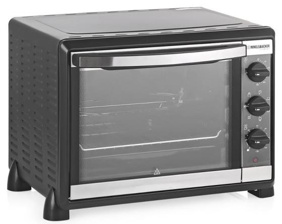 Мини-печь Rommelsbacher BG 1550 чёрный мини печь supra mts 2001b чёрный