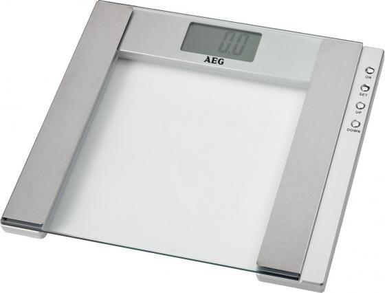 Весы напольные AEG PW 4923 Glas прозрачный весы напольные aeg pw 5653 schwarz