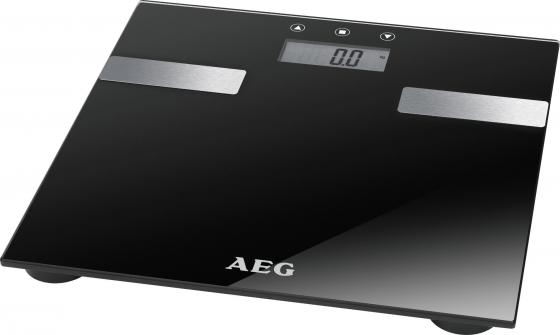 Весы напольные AEG PW 5644 FA чёрный clatronic pw 3370 напольные весы