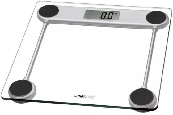 Весы напольные Clatronic PW 3368 Glas прозрачный clatronic pw 3370 напольные весы