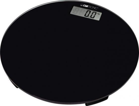 Весы напольные Clatronic PW 3369 Glas чёрный clatronic pw 3368