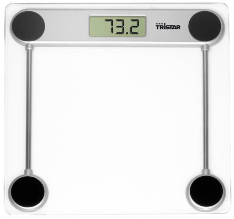 Весы напольные Tristar WG-2421 прозрачный электроплитка tristar kp 6245 белый